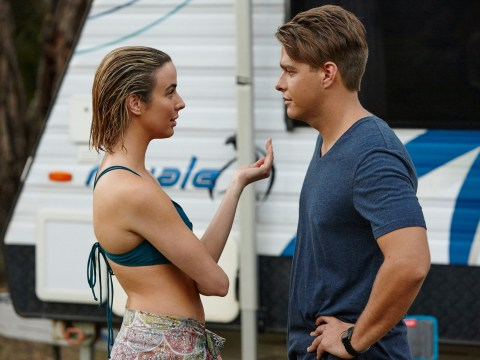 Home and Away: Colby and Chelsea kiss?