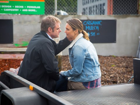 Neighbours spoilers: Damien Richardson on Gary declaring his love for Amy: 'It's awkward and embarrassing but fun'