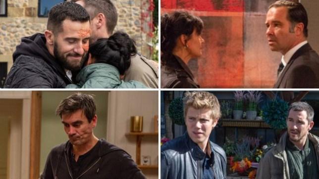 Emmerdale spoilers for Ross, Moira, Graham, Cain, Robert and Pete