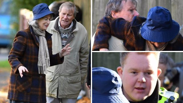 Roy and Evelyn search in Coronation Street