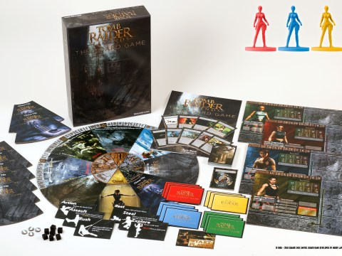 Tomb Raider Legends board game coming out in 2019