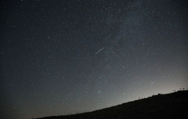 What time and where to watch Orionids meteor shower in the UK tonight