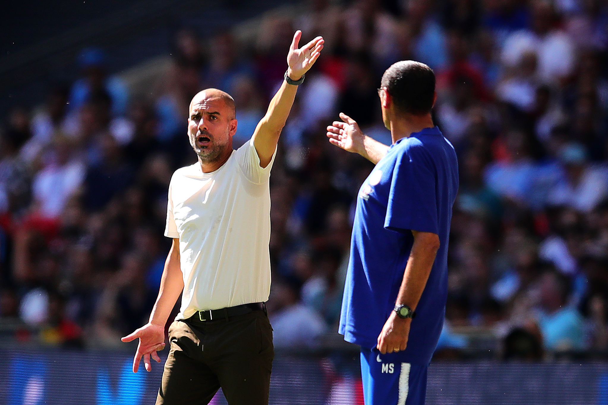 Maurizio Sarri backs Manchester City or Juventus to win Champions League