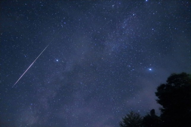 Orionids meteor shower set to light the night sky tonight in dazzling galactic spectacle