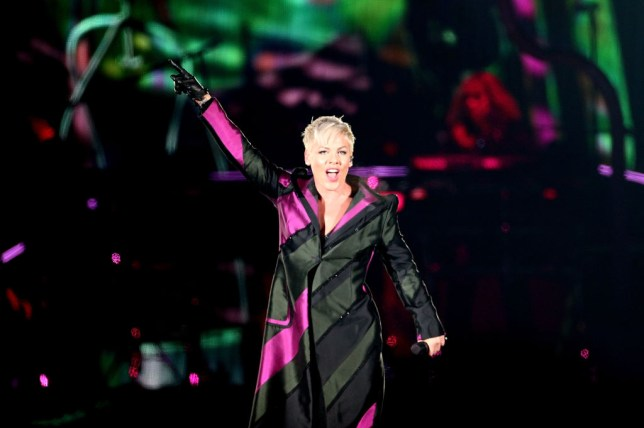 When are Pink tickets on sale for 2019 Beautiful Trauma UK tour