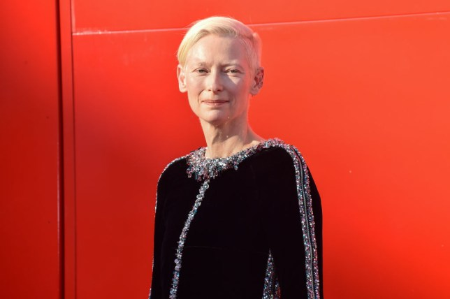 Tilda Swinton at Venice Film Festival