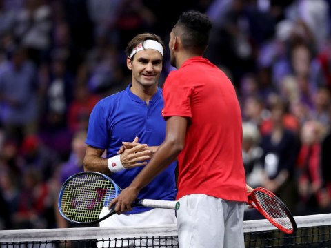 Roger Federer offers advice to Nick Kyrgios after Shanghai meltdown