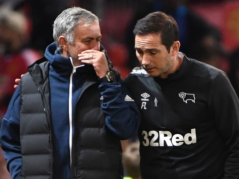 Jose Mourinho finally reveals what he told Frank Lampard after Derby County beat Manchester United