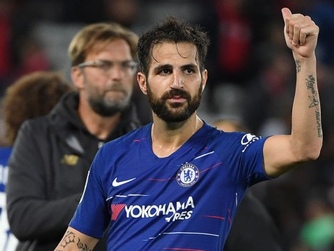 Maurizio Sarri backs Cesc Fabregas to rival Jorginho for Chelsea midfield role