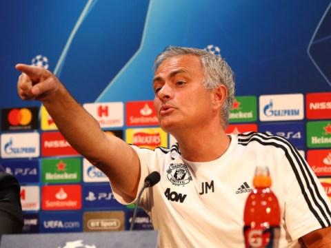 Jose Mourinho laughs off Zinedine Zidane rumours as pressure mounts on Manchester United boss