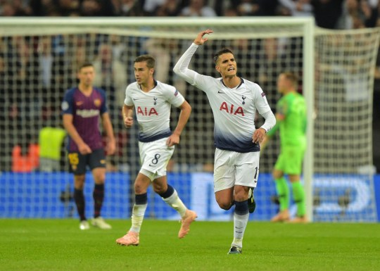 9b2828e54 Lamela netted Spurs  second goal in Wednesday s 4-2 defeat to Barca  (Picture  Getty). Speaking after the match ...