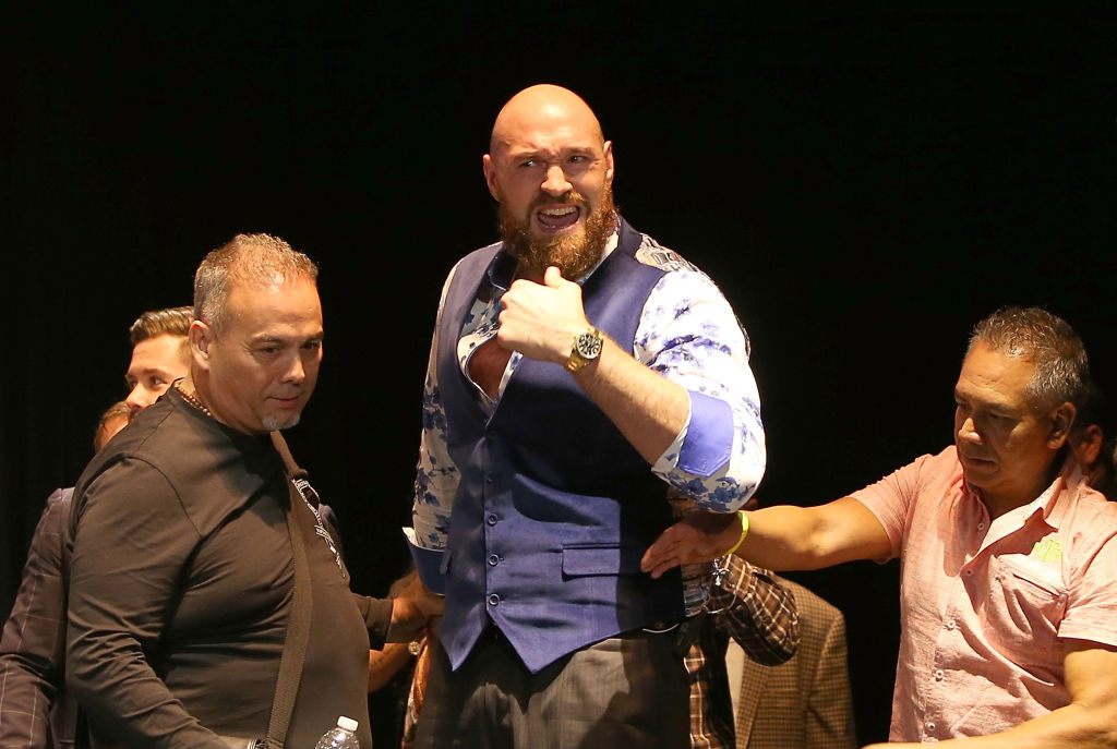 Tyson Fury releases details of promotional offer from Eddie Hearn