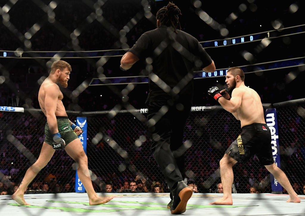 Conor McGregor continues war of words with Khabib Nurmagomedov and appears to announce return