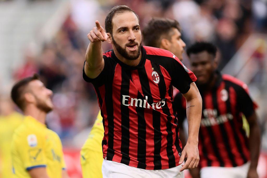 AC Milan forward Gonzalo Higuain reveals failed transfer to Chelsea