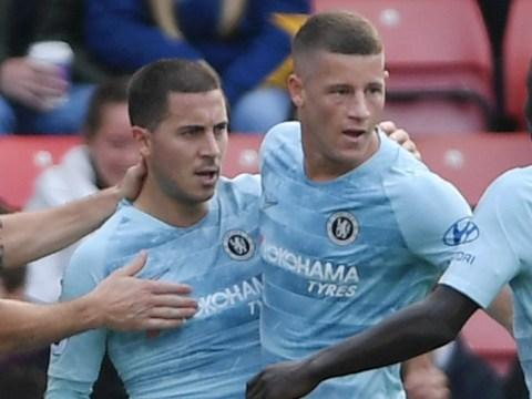 Eden Hazard praises Ross Barkley after performance against Southampton