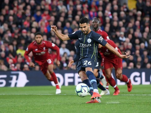 Manchester City forward Riyad Mahrez breaks silence after shocking penalty miss v Liverpool
