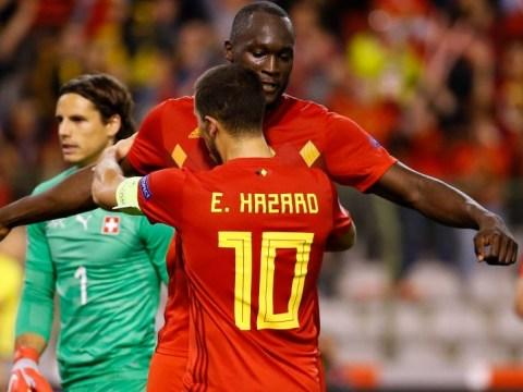 Chelsea v Manchester United: Eden Hazard hopes Romelu Lukaku's goals dry up soon