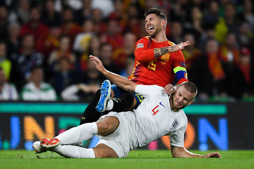 Eric Dier reveals what Sergio Ramos said to him after *that* tackle
