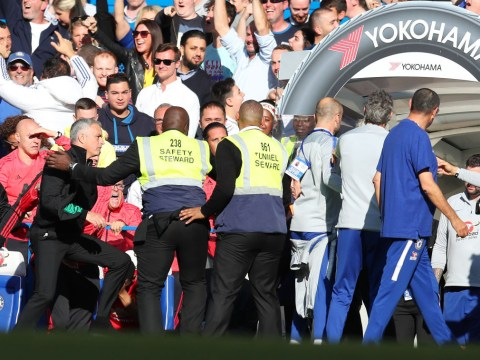 Jose Mourinho loses the plot as Manchester United concede late equaliser to Chelsea