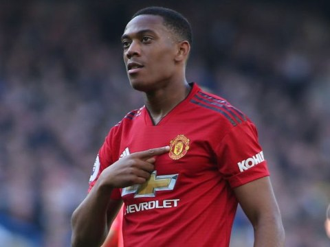 Anthony Martial drops contract hint after Manchester United's draw with Chelsea