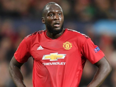 Jose Mourinho decides to start Romelu Lukaku for Manchester United's clash with Everton