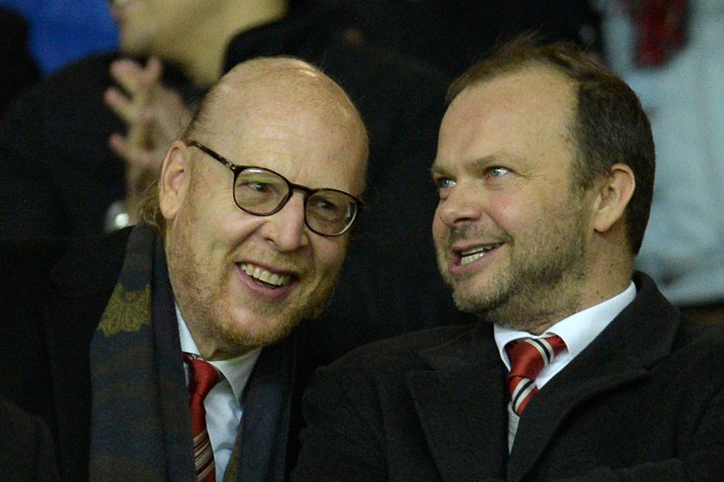 Image result for Ed Woodward and Malcolm Glazer