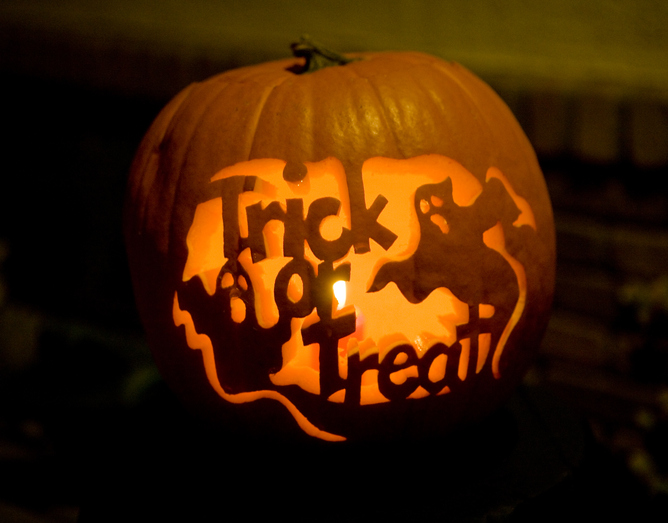 Why do we celebrate Halloween in the UK and where did 'trick or treat' come from?