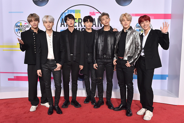 BTS thank Army as they win Favourite Social Artist at American Music Awards 2018