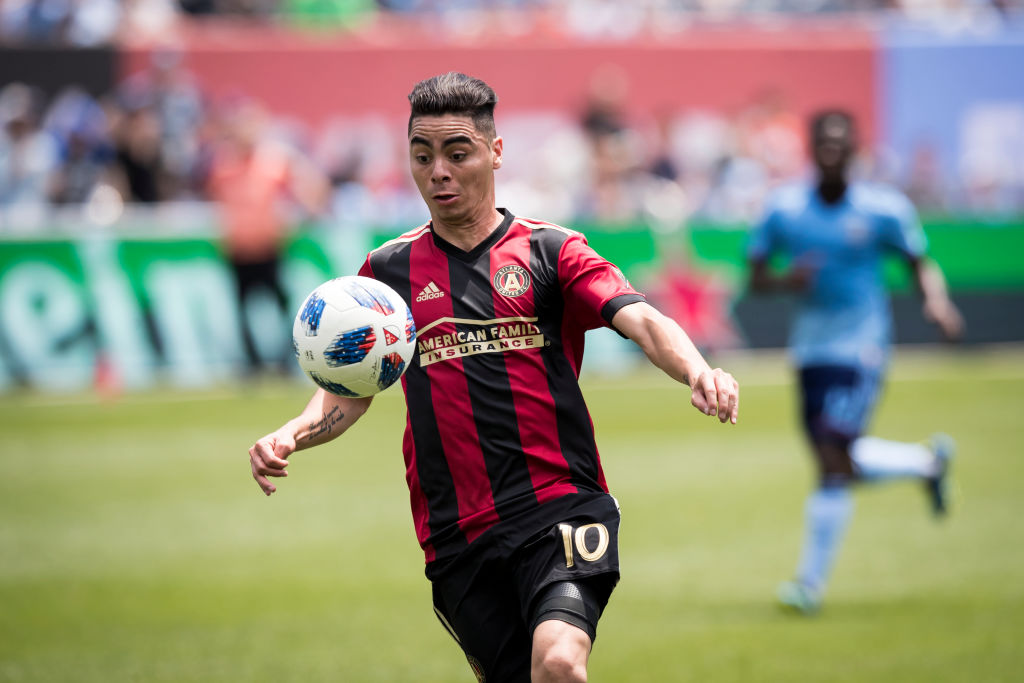 Atlanta United chief drops major hint Arsenal will sign Miguel Almiron in £11m deal