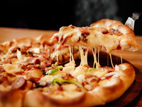 A maximum pizza size of four inches could be introduced
