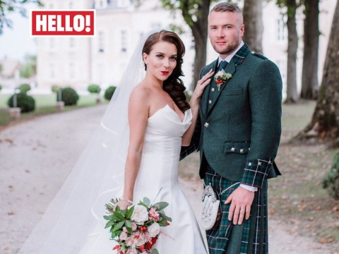 Candice Brown has 12 wedding cakes baked by the GBBO fam as she marries fiance Liam Macaulay