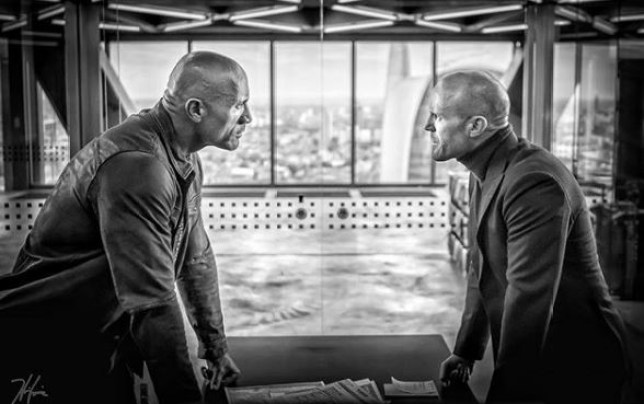 Hobbs And Shaw (Picture: Twitter/Dwayne Johnson)