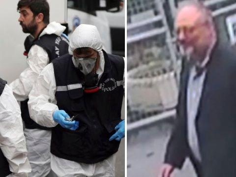 Body parts found 'cut up in garden' in hunt for murdered Saudi journalist