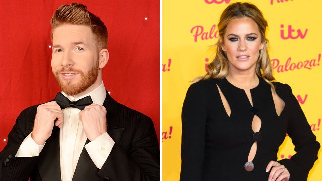 Strictly's Neil Jones 'pairing with Caroline Flack for Christmas special' after Katya and Seann Walsh kiss