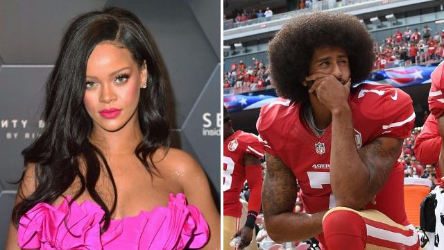 Rihanna 'turned down Super Bowl show in support of NFL's Colin Kaepernick'