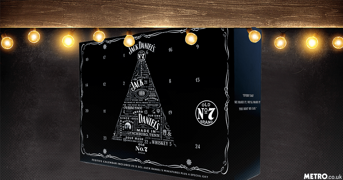 Asda is selling a Jack Daniel's Advent calender and it looks amazing JackDaniels/Getty Images