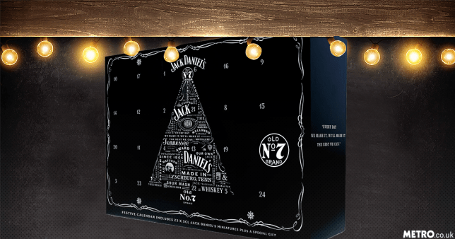 Asda launches Jack Daniel's advent calendar filled with 23 bottles