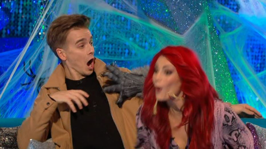 Strictly's Joe Sugg and Dianne Buswell given fright of their lives with It Takes Two Halloween prank