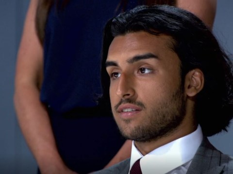 The Apprentice candidate clears up exactly how Kurran Pooni broke his arm – and it's all the girls' fault