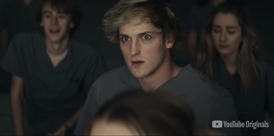 Logan Paul shared the trailer for his new film, The Thinning: New World Order (Picture: YouTube)