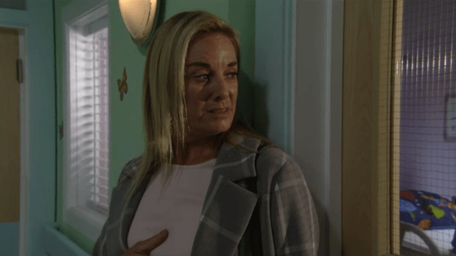 Mel finds out the truth in EastEnders
