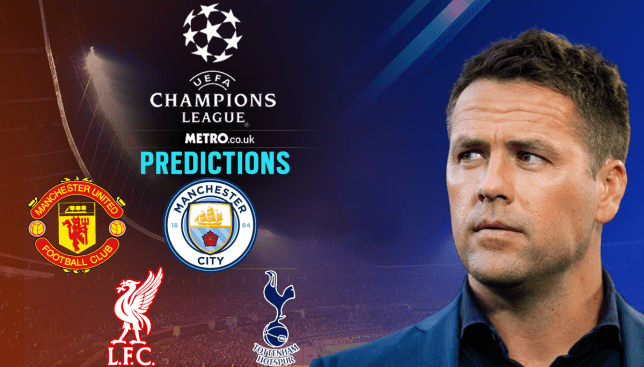 7a6cfb19ce639 Michael Owen gives his take on the first legs of the Champions League  quarter-finals (Metro/Getty)
