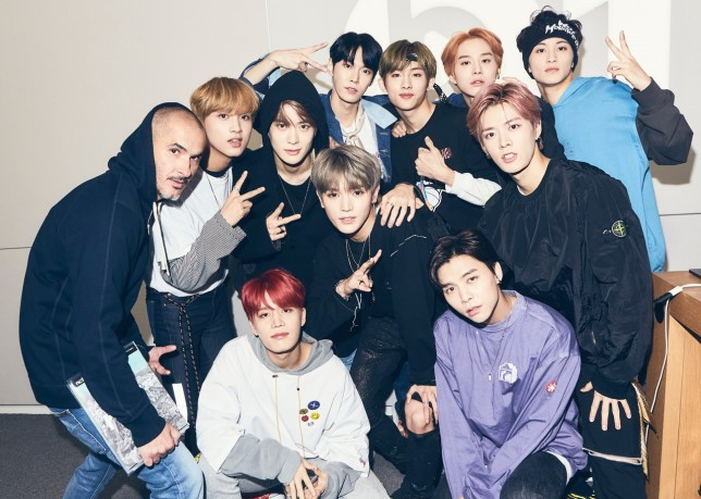 K-pop band NCT-127 surprised by DJ Khaled who confirms
