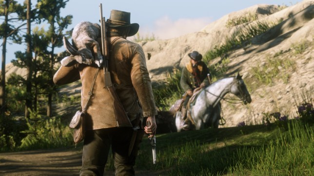 Red Dead Redemption II (PS4) - hunting is difficult but necessary