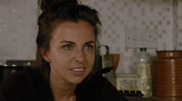 Ruby speaks to Stacey in EastEnders