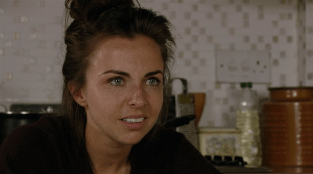 Ruby speaks to Stacey in EastEnders