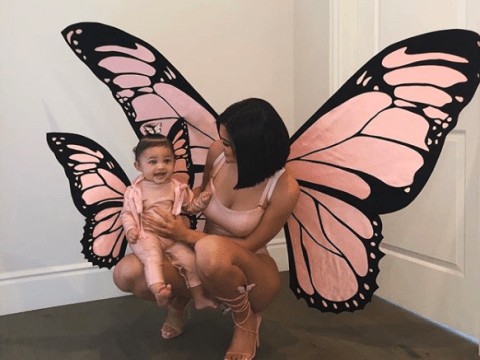Kylie Jenner and baby Stormi wear divine matching butterfly wings for Halloween and we can't deal