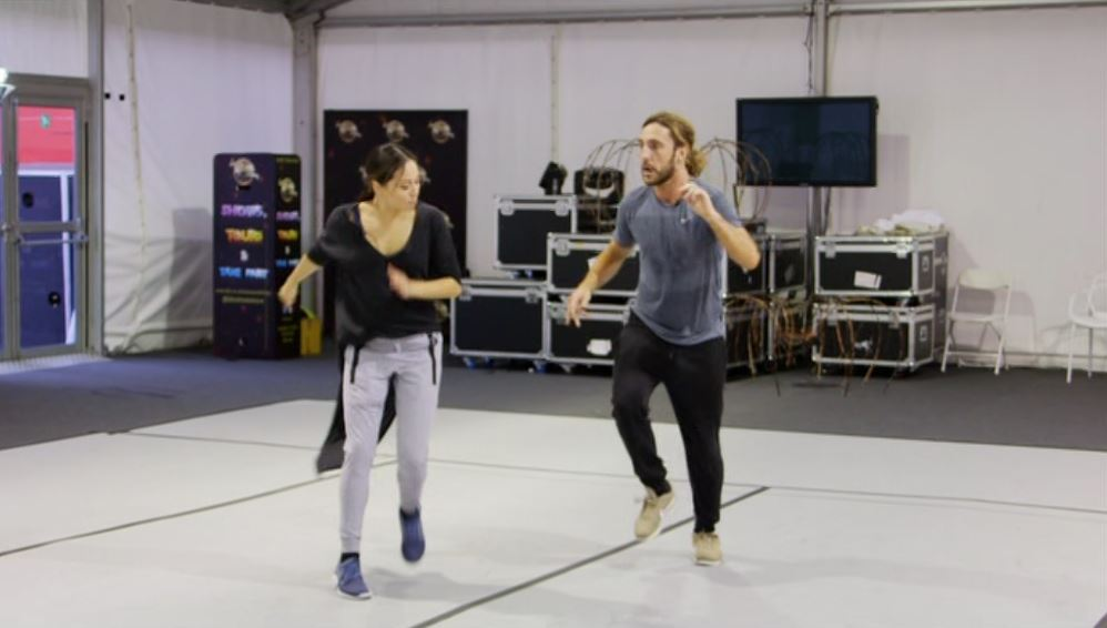 Seann Walsh and Katya Jones 'toned down' Strictly dance praised in first look footage ahead of live show