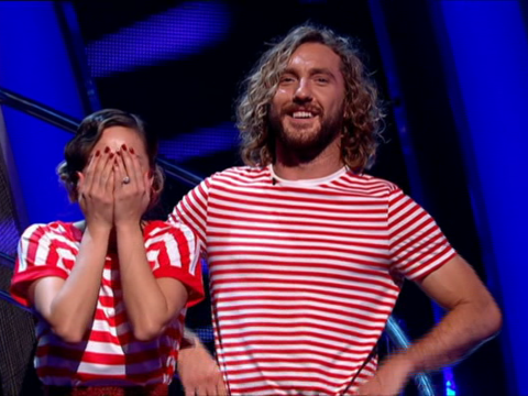 Seann Walsh planned 'sexy duvet' shoot with Katya Jones before that Strictly Come Dancing snog