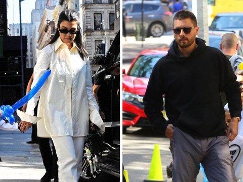 Kourtney Kardashian and Scott Disick enjoy family trip to New York with kids – as Kim schemes for them to have another baby
